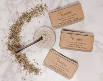 Lavender & Bentonite Clay Facial Soap