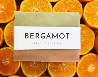 Bergamot Soap - 100% all natural soap