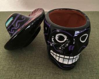 Mexican Art Sugar Skull Jewelry Box
