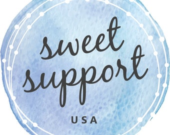 Sweet Support USA Navy Candle