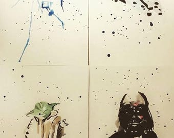 Custom Watercolours - Star Wars