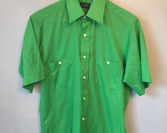 Men's M Vintage Button-up Lord and Taylor