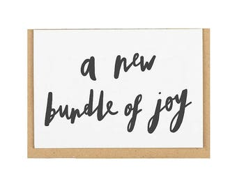A New Bundle of Joy Card