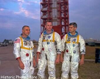 Apollo 1 Astronauts Grissom,White, Chaffe