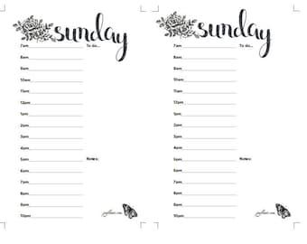 Mini- Happy Planner Daily Calendar- Mini