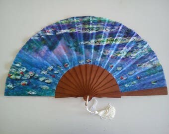 hand-painted modern fans