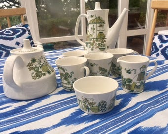 Vintage 1960s Figgjo Tea Set. Market - Turi Design Norway