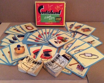 Contraband card game from Pepys vintage card game