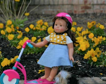 18 inch doll play dress