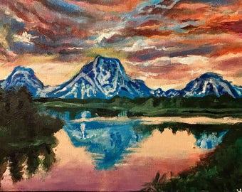 Landscape painting- Heaven's reflection