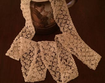 Knitted Cotton Lace
