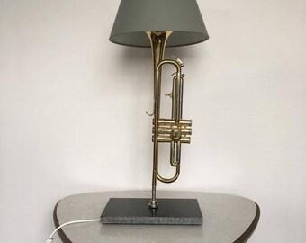 Trumpet lamp, Trumpetlamp, lamp.