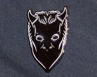 Nameless Ghoul pin badge ghost bc papa emeritus devil satan