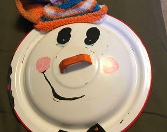 Repurposed Snowman