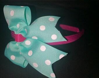 Headbands with hair bows