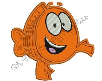 Teacher Fish Applique Design