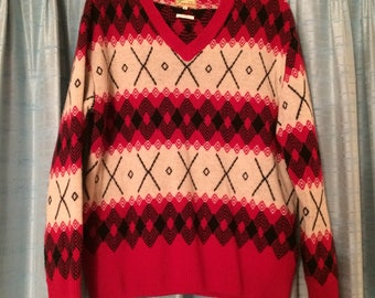 Levi's LVC 30's style Fair Isle sweater