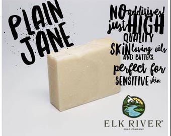 FREE SHIPPING Plain Jane Handmade Soap