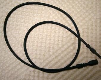 Black Tube Cord 18 inches 2mm, Rubber Tube Lock Cord, Black Cord,  Jewelry Supplies, Willow Glass