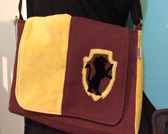 Gryffindor Messenger Bag-Harry Potter-Hogwarts House