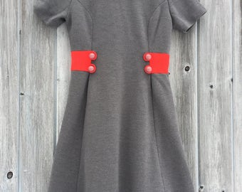 60s Dess/ Twiggy Dress/ Shift Dress/ Mod Dress