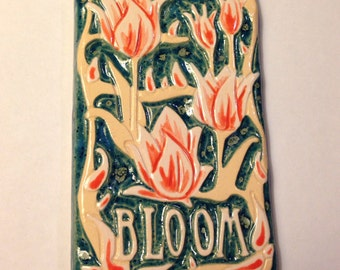 Bloom Tulip Art Tile