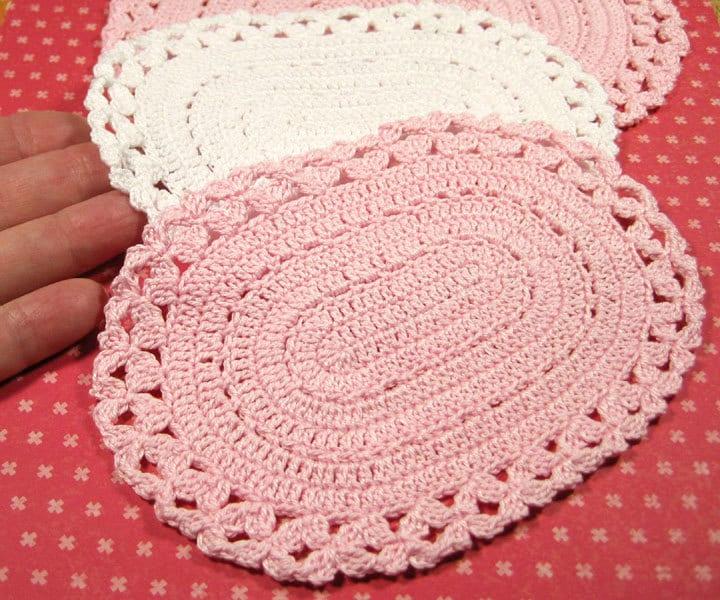 Star Wars Crochet Doll Pattern : Miniature crochet oval dollhouse rug 1/12 by ...