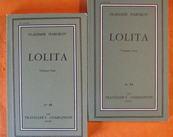 Lolita (Two Volume Edition) by Vladimir Nabokov