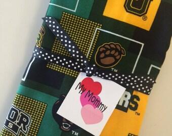 Baylor University NCAA Cotton Burp Cloth Diaper 4 Infant Newborn Boy Girl Gift
