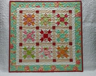 Star Crossed Mini Quilt