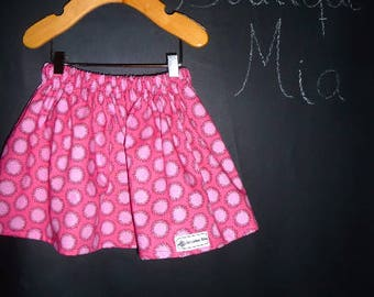 Sample SALE - Will fit Size 12 month to 3T - Ready to MAIL - SKIRT - Amy Butler - by Boutique Mia