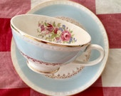 Vintage 1940's Homer Laughlin Chateau Teacup and Saucer