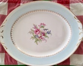 Vintage 1940's Homer Laughlin Chateau 13.5 inch Platter