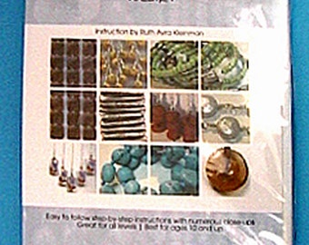 Beading Basics Vol 1 Instructional DVD by Ruth Avra Kleinman Step-by-step Jewelry making techniques Stringing Beading all levels Designers