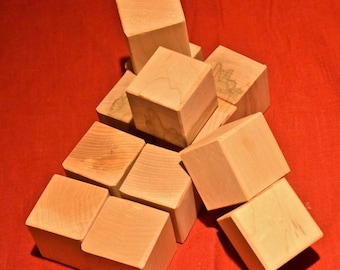 Maple Blocks - 12 Wood Toys