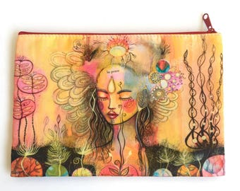 Land in Peace, pouch, large