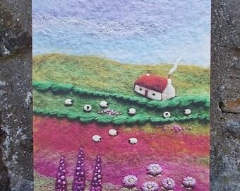 Wildflower Croft Canvas Print