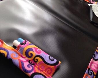 Travel Doodler ChalkMat / Pink and Purple Swirls