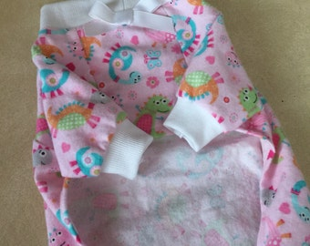 Ready Made Flannel Extra Small Dog Pajamas