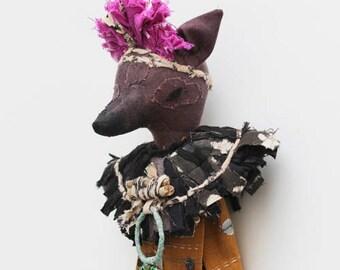 ANNAWAN - Tribal Art Doll
