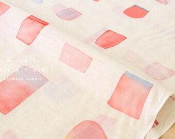Japanese Fabric Kokka 3 min. - SS2 - pink, orange - 50cm