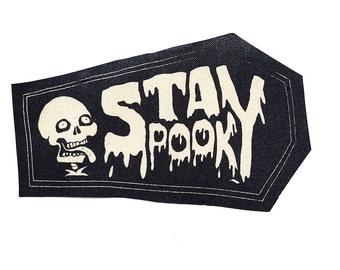 Stay Spooky Skeleton Stitch-On Patch