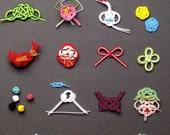 Easy Mizuhiki Arrangement Book - Japanese Craft Book