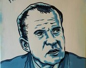 Richard Nixon - Original painting by Mr Hooper of Nashville Tennessee