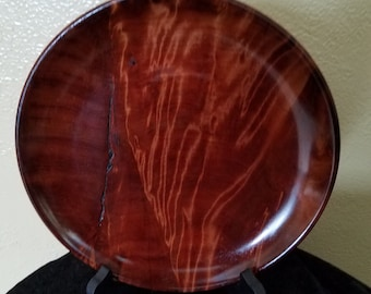 Old growth red cedar burl display bowl