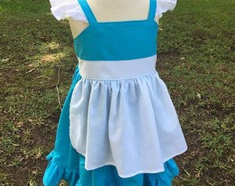 Disney Princess Inspired Dress   Belle's Village Girl Toddler Dress