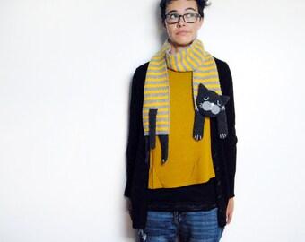 CROCHET PATTERN - Cat scarf