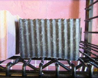 100% Goat Milk Soap Activated Charcoal unscented-cold process