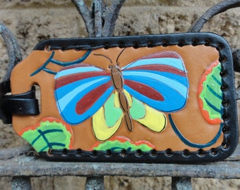 Luggage Tag with Butterly