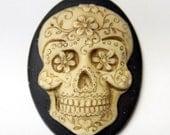 Sugar Skull needle minder - needleminder pinminder needlecraft accessory